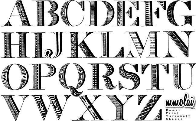 Vector Typeface : RPVS