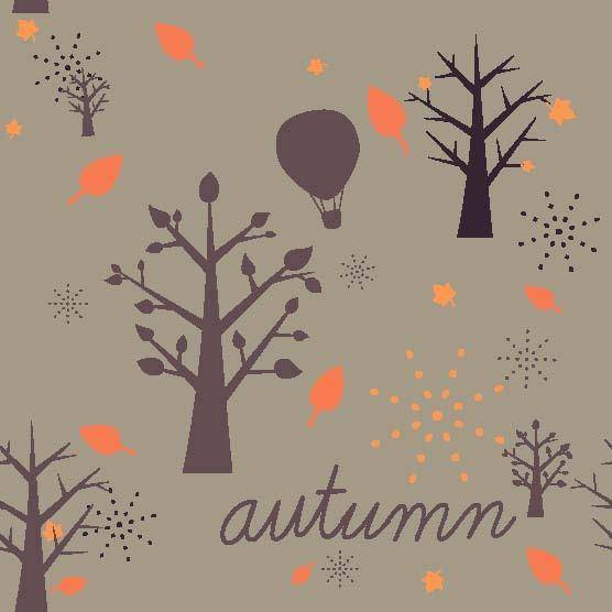 free vector Autumn Vector Pattern