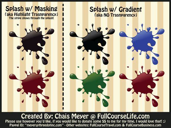 Splash Vector Pack