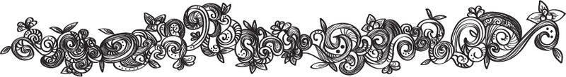 free vector Free Floral Border Vector