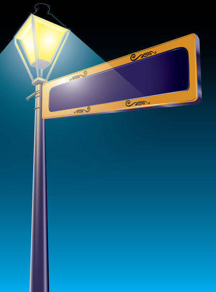 free vector Illustrator Street Sign