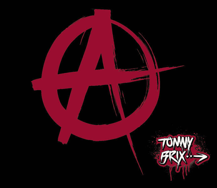 free vector ANARCHY (SIGN/SYMBOL) - design Tommy Brix