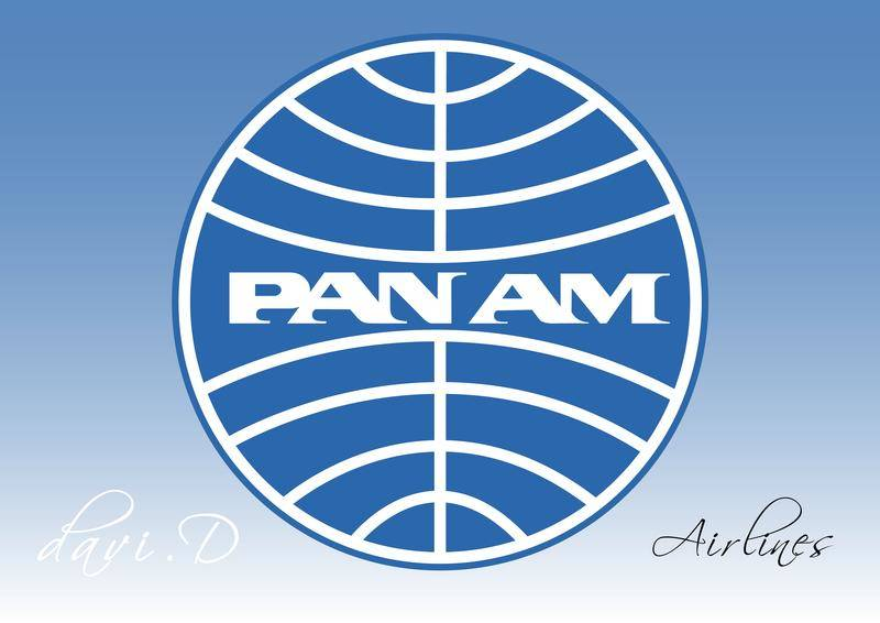 Pan Am Airlines Vector Logo