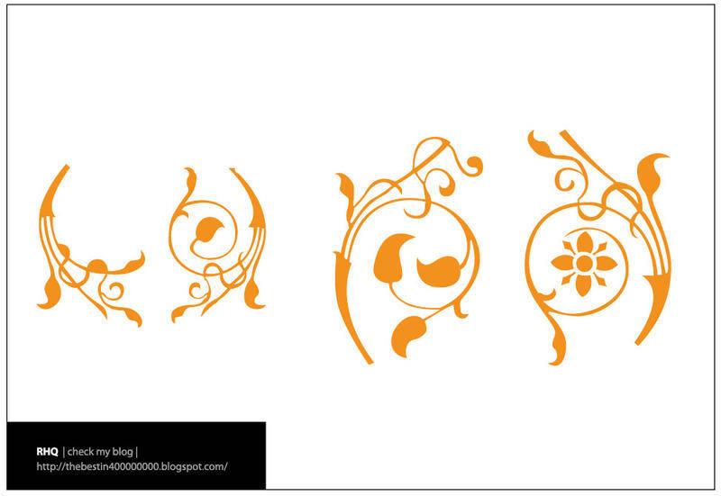 free vector Floral Elements Vectors