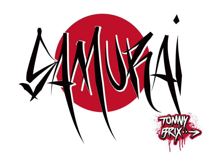 free vector SAMURAI - design Tommy Brix