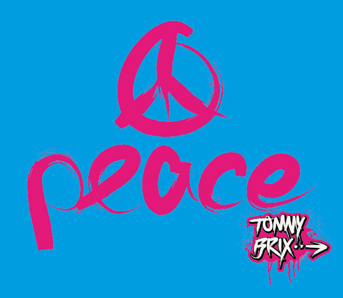 free vector Peace - design Tommy Brix