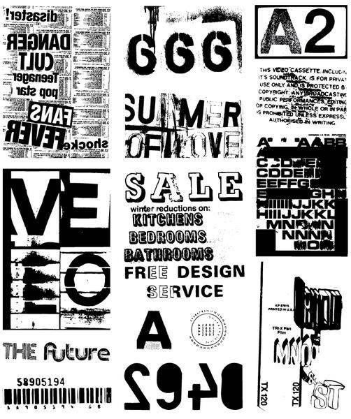 free vector TYPO ART