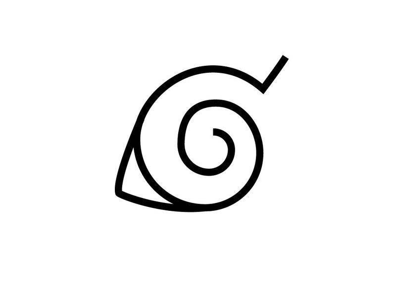 Konaha Leaf Symbol Vector