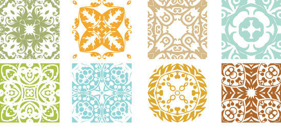 free vector Floral Patterns