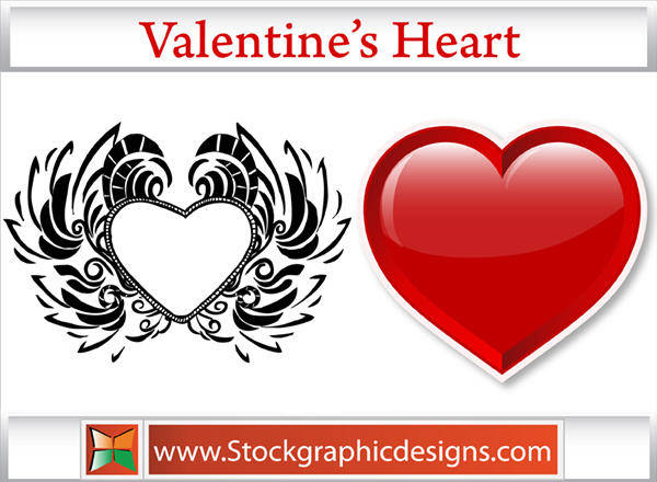 free vector Valentineâ??s Heart