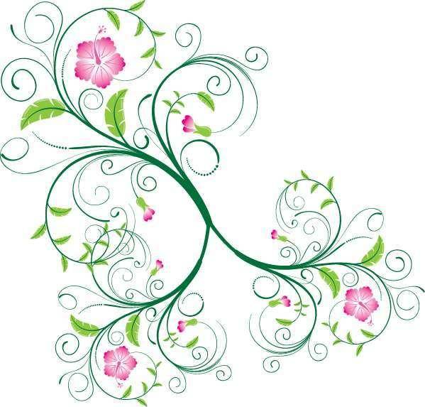 free vector Vector Swirls and Floral Swirls