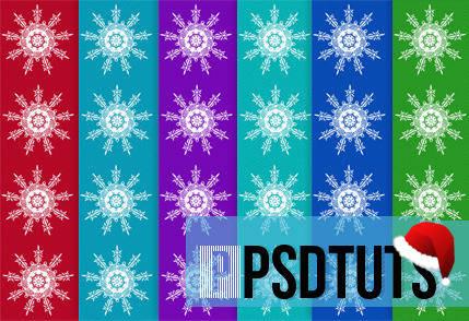free vector Snowflake Christmas Pattern Vector