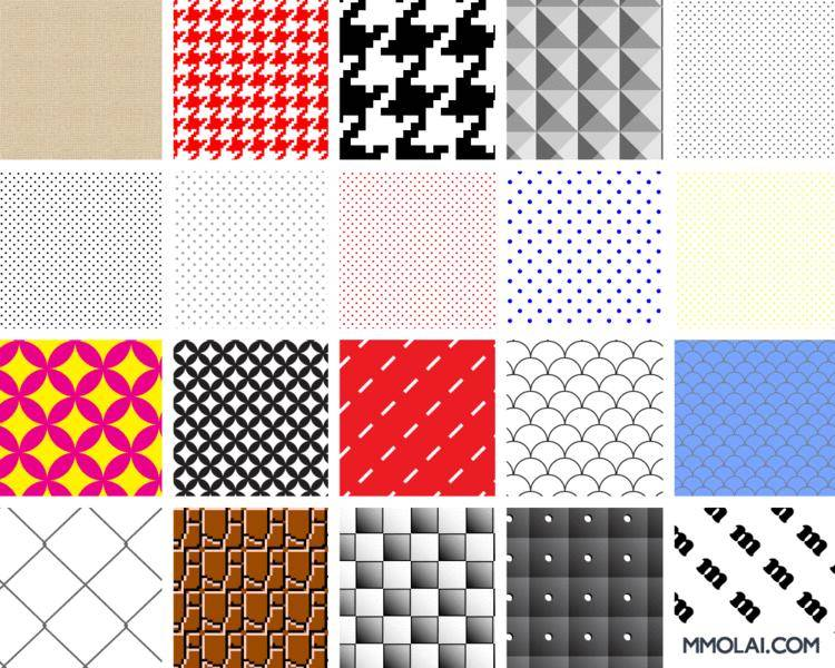 free vector Swatch Patterns