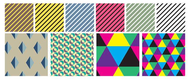 free vector Geometric Patterns 3