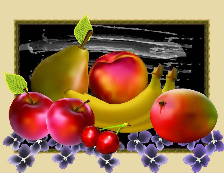 free vector Bodegon | fruit