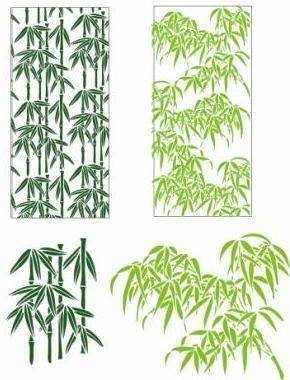 free vector Bamboo Leaves Vector