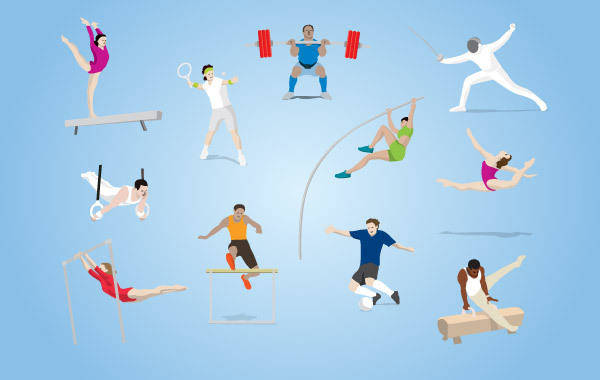 free vector Olympic Sports Vector