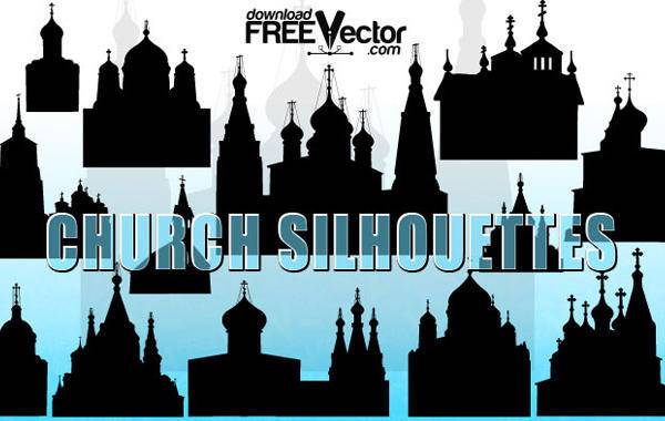 free vector Vector Christian Church