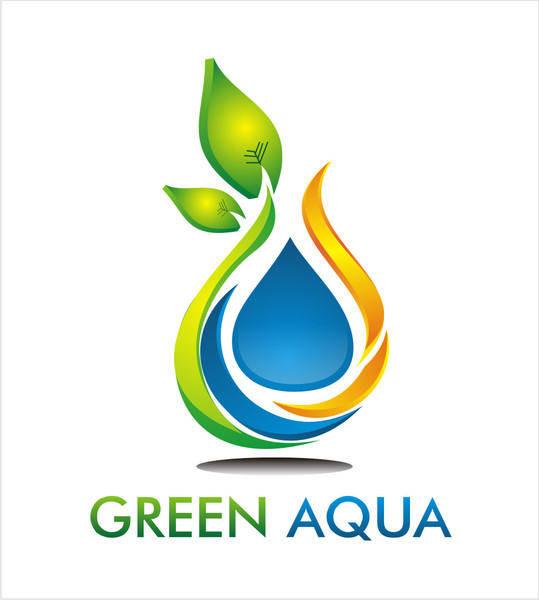 free vector Green Aqua
