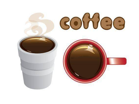 free vector Coffee in Styrofoam Cup and Mug