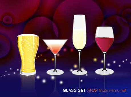 free vector Glass Set