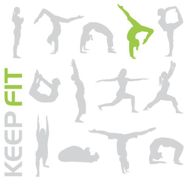 Free Keep Fit Vectors â?? Give Your Designs a Workout!