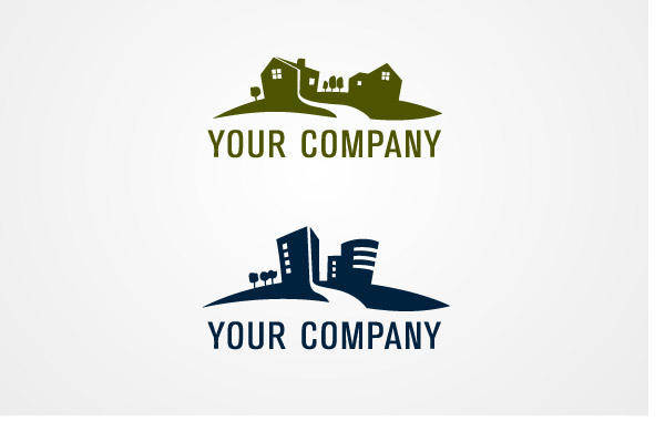 free vector Real Estate Logo 02
