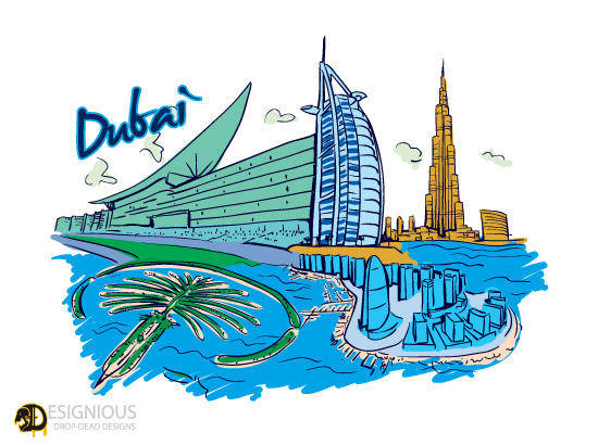 free vector Vector Famous Cities Free Sample