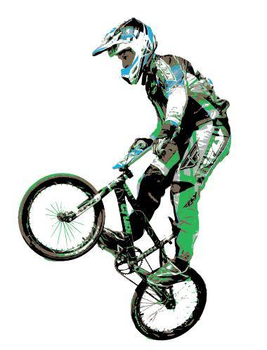 free vector Tyler Brown BMX Vector Art