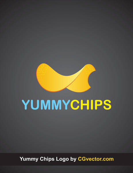 Chips Logo Vector