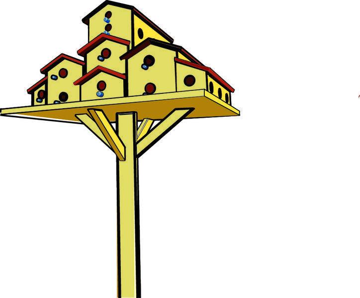 free vector Birdhouses