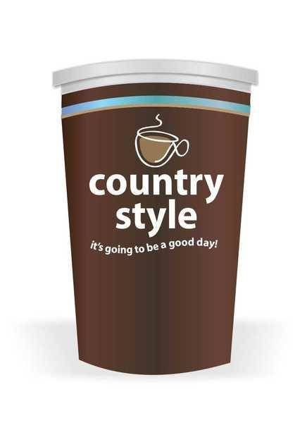 free vector Country Style Coffee Vector