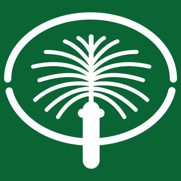 free vector Jumeirah Palm Dubai Logo Vector