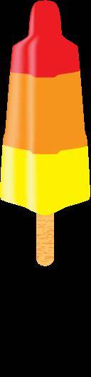 free vector Popsicle Vector (Rocket ice cream)
