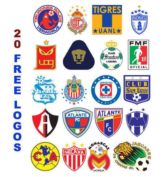 free vector Logos Futbol Mexico