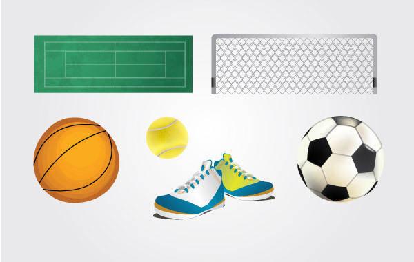 free vector Vector Sport Elements