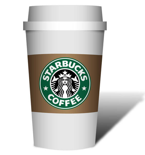 free vector Coffe Starbucks