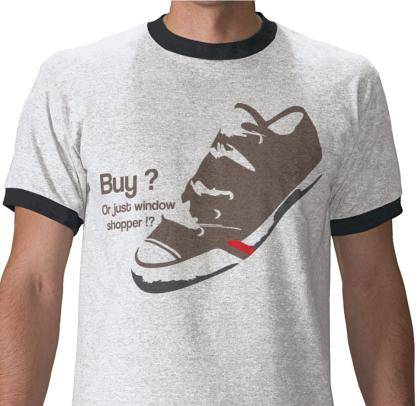 free vector Shoe Funny T Shirt Vector