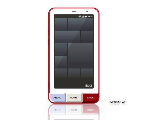 Smart Phone INFOBER A1 Vector
