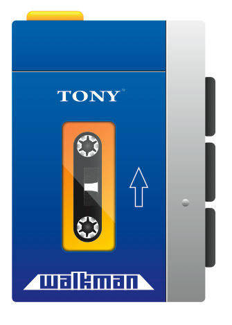 free vector Walkman Vector