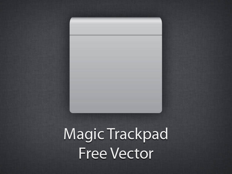 free vector Magic Trackpad