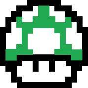 Mario Brothers Vector 1 up