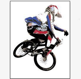 free vector BMX Style Vector Artwork