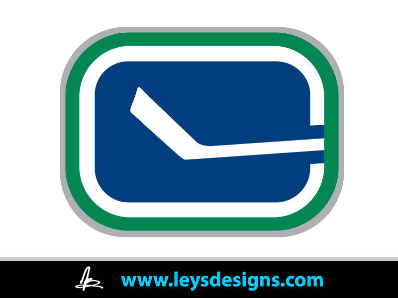 Go Canucks Go! - Stick Logo