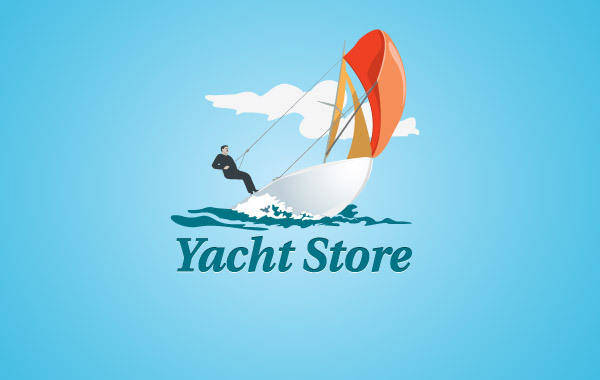 free vector Yacht Store Logo