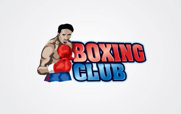 free vector Boxing Club Logo