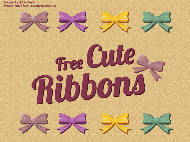 Beautiful Ribbon Vectors