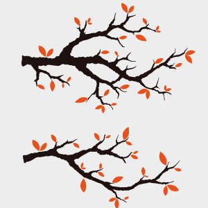 Free Vector Branches