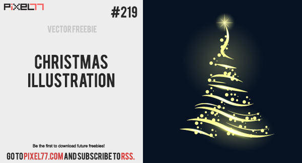 free vector Free Vector of the Day #219: Christmas Illustration