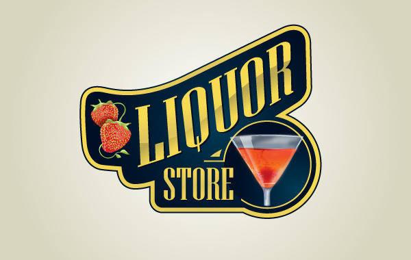 free vector Liquor Store